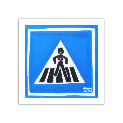 Limited prints - GENDER NEUTRAL ROAD SIGNS - Frank Willems