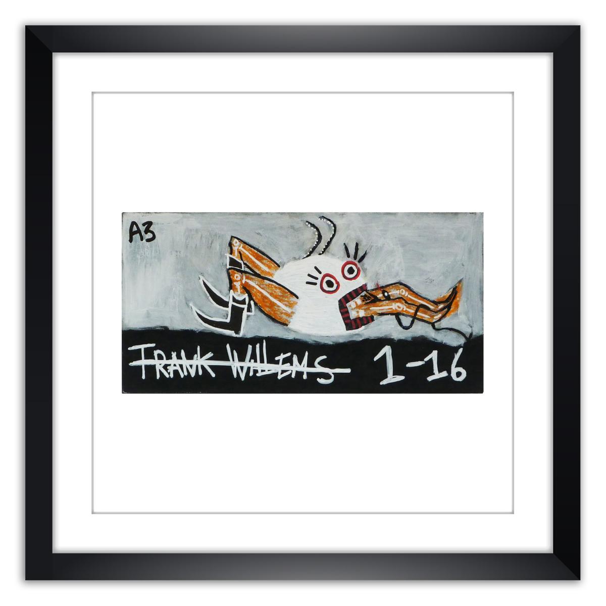 Limited prints - JÉBÉ A3 framed - Frank Willems