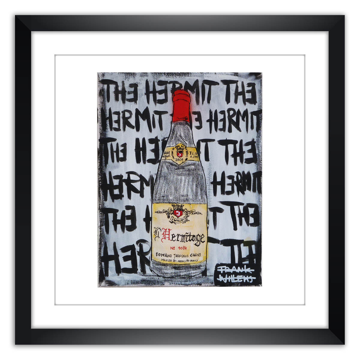 Limited prints -L'HERMITAGE - THE HERMIT framed - Frank Willems