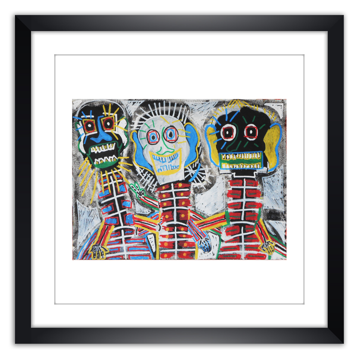 Limited prints - ME AND MY FRIENDS framed - Frank Willems