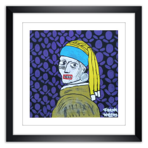 Limited prints - MISUNDERSTOOD framed - Frank Willems