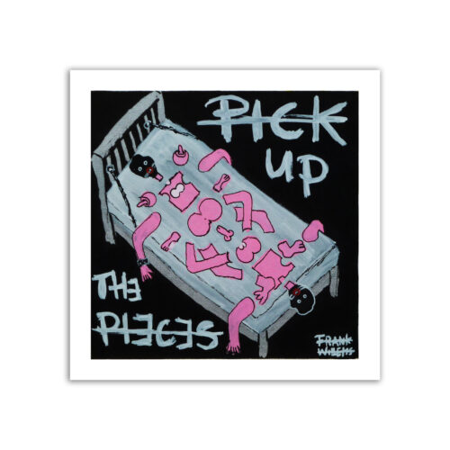 Limited prints - PICK UP THE PIECES - Frank Willems