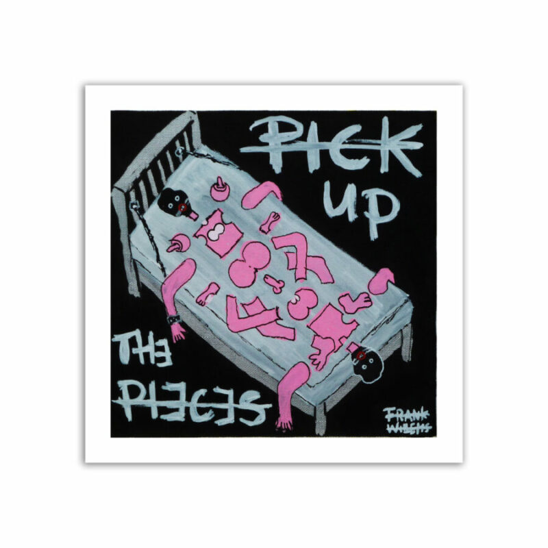 LIMITED EDT. ART PRINT - PICK UP THE PIECES