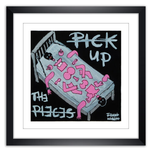 Limited prints - PICK UP THE PIECES framed - Frank Willems