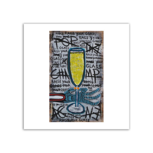 Limited prints - POP THE CHAMPAGE - Frank Willems