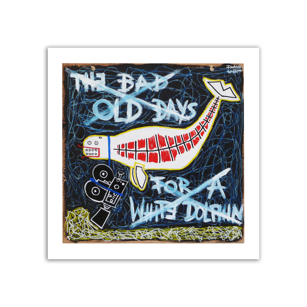 Limited prints - THE BAD OLD DAY OF A WHITE DOLPHIN - Frank Willems
