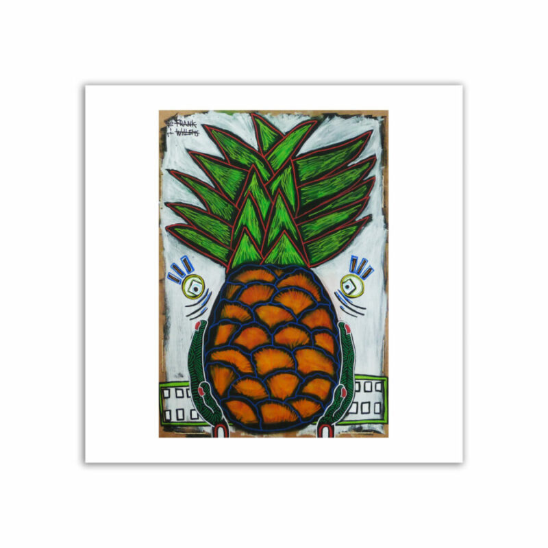 LIMITED EDT. ART PRINT - YUMMY PINEAPPLE