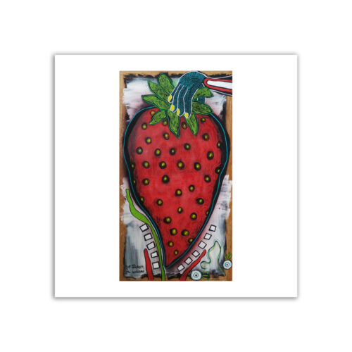 Limited prints - YUMMY STRAWBERRY - Frank Willems