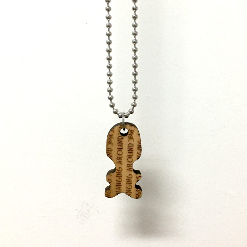 JUST HANGING AROUND - BALL CHAIN NECKLACE - Back - Frank Willems