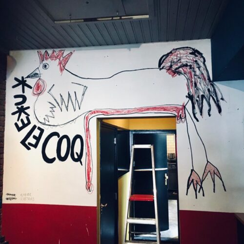 LE COQ ROUGE - Mural De Rooie Haen - 02 - Rogier Roeters x Frank Willems