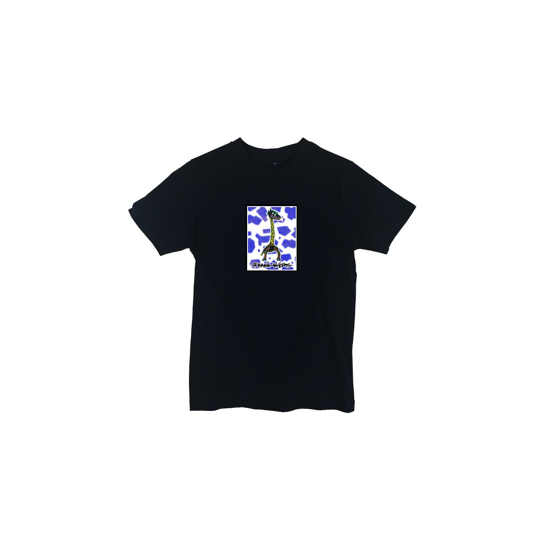 Kids T-shirt black - CRICK IN NECK - Frank Willems