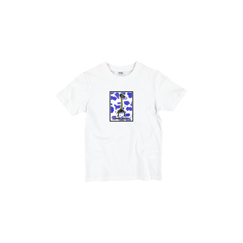 Kids T-shirt white - CRICK IN NECK - Frank Willems