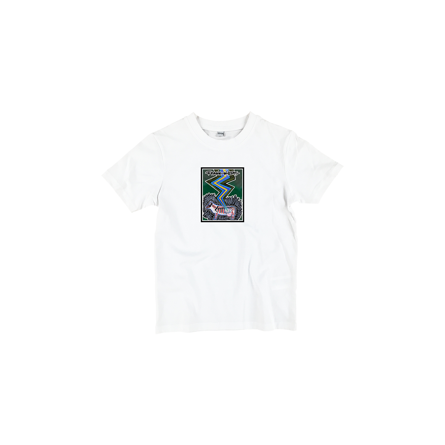 Kids T-shirt white - SILVER COLORED COW - Frank Willems