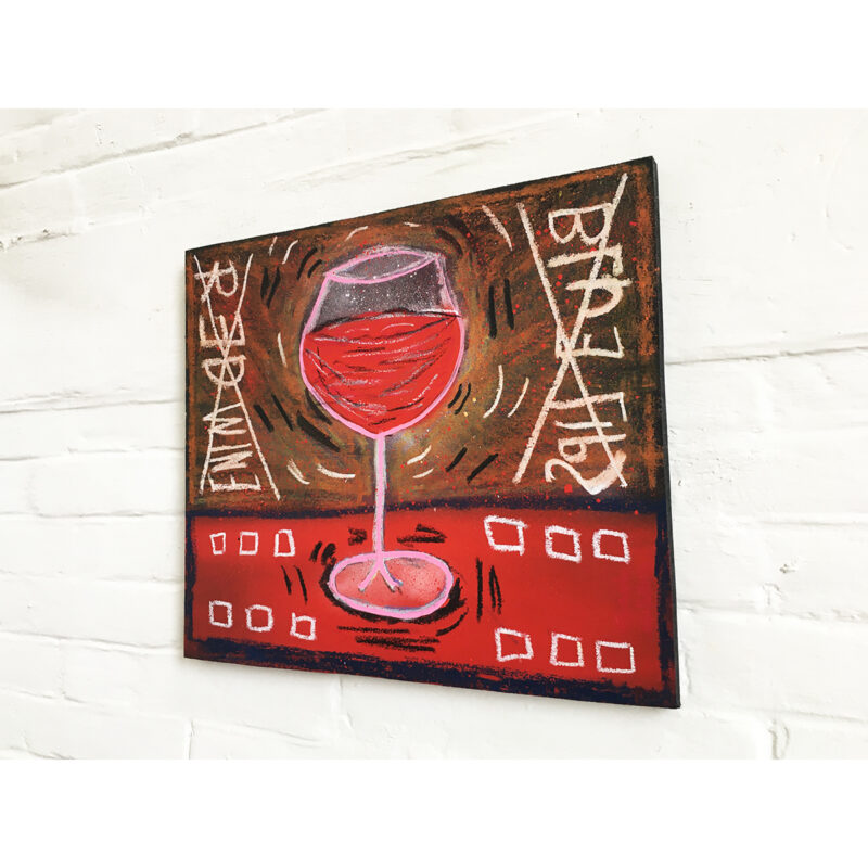RED WINE BLUE LIPS 03 - Frank Willems