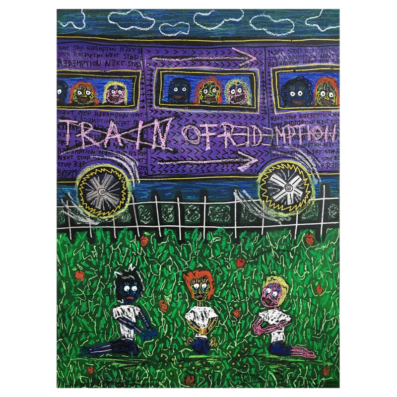 TRAIN OF REDEMPTION - Frank Willems