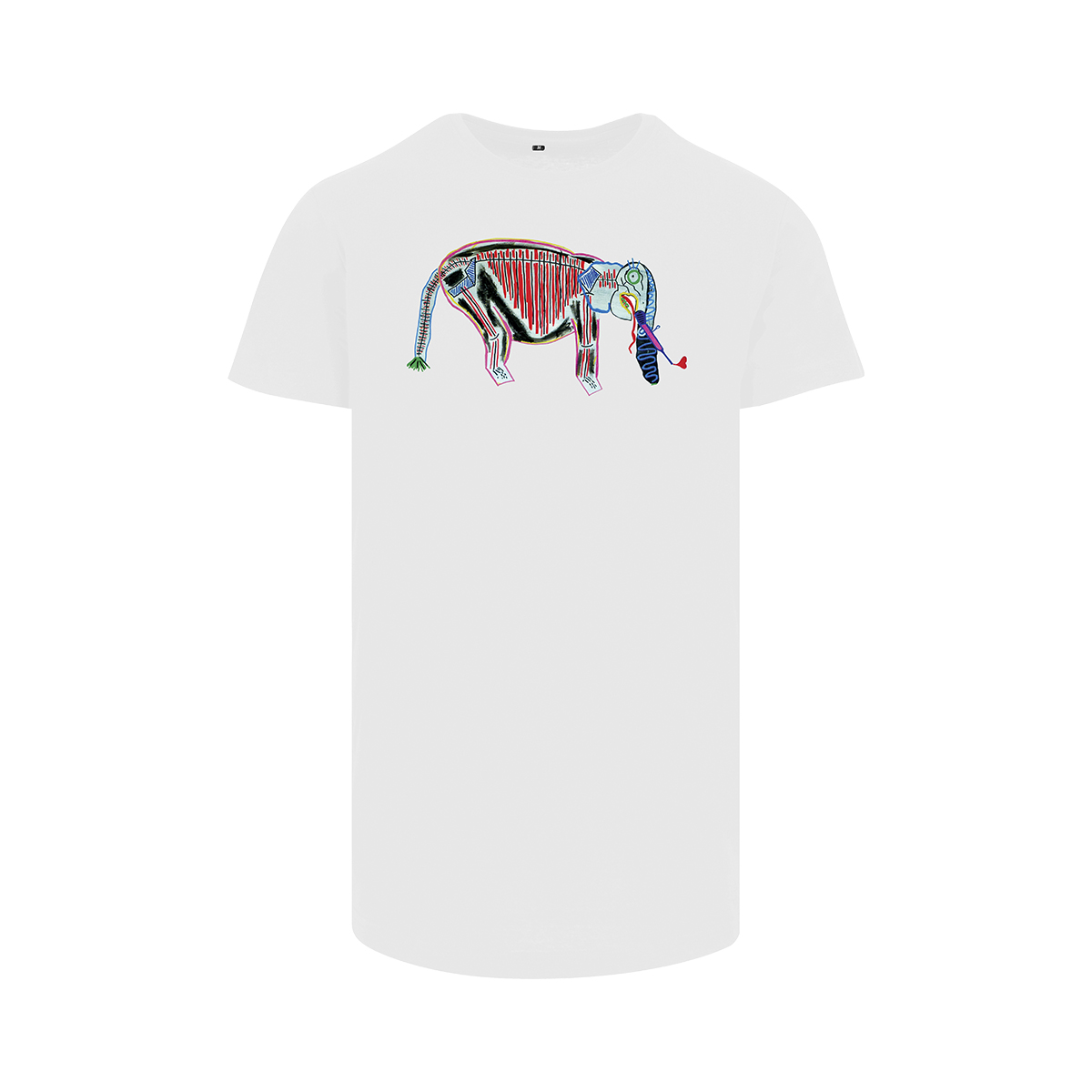 Frank Willems - Longfit T-shirt - HAVE YOU SEEN MY IVORY - WHT