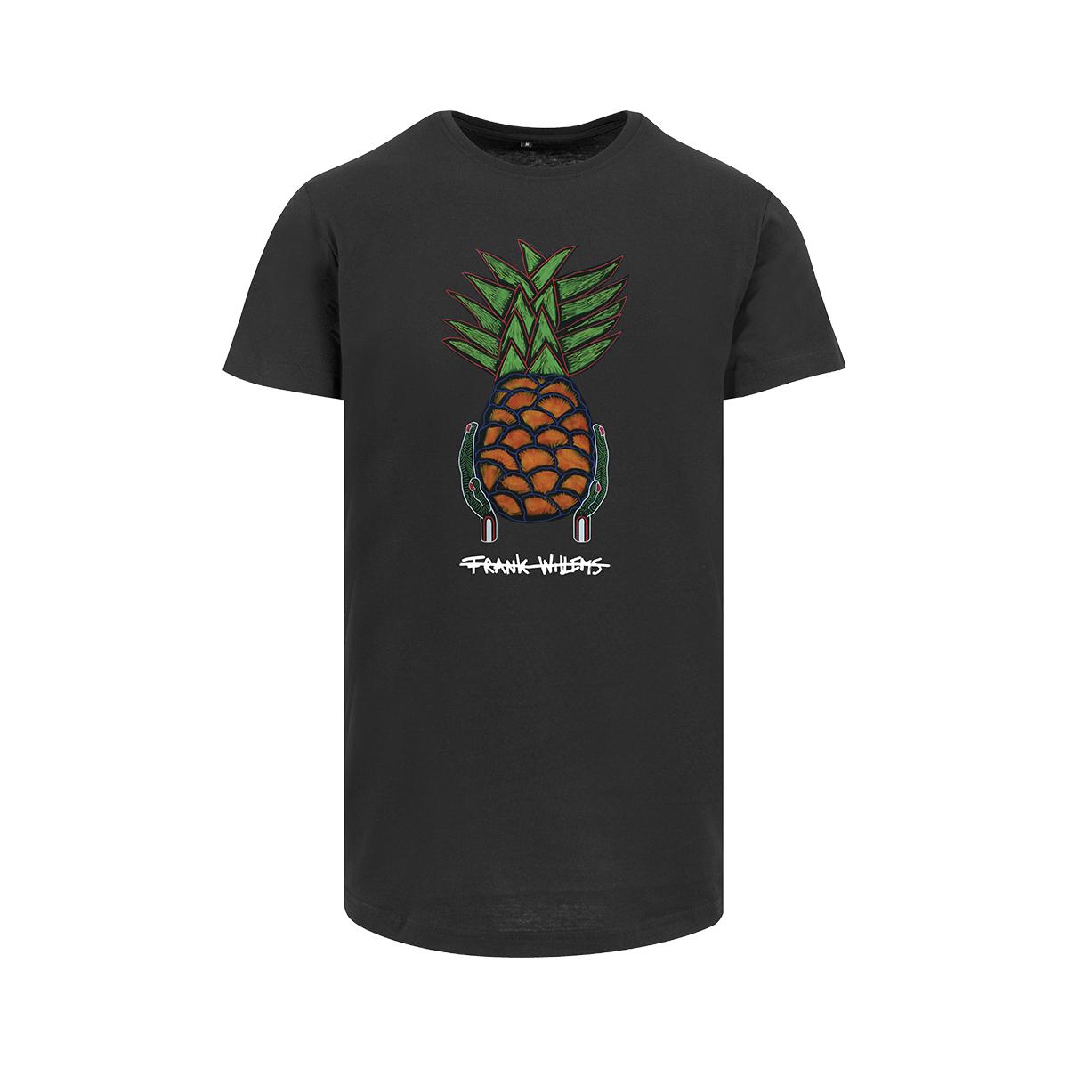 Frank Willems - Longfit T-shirt - Yummy Pineapple - BLK