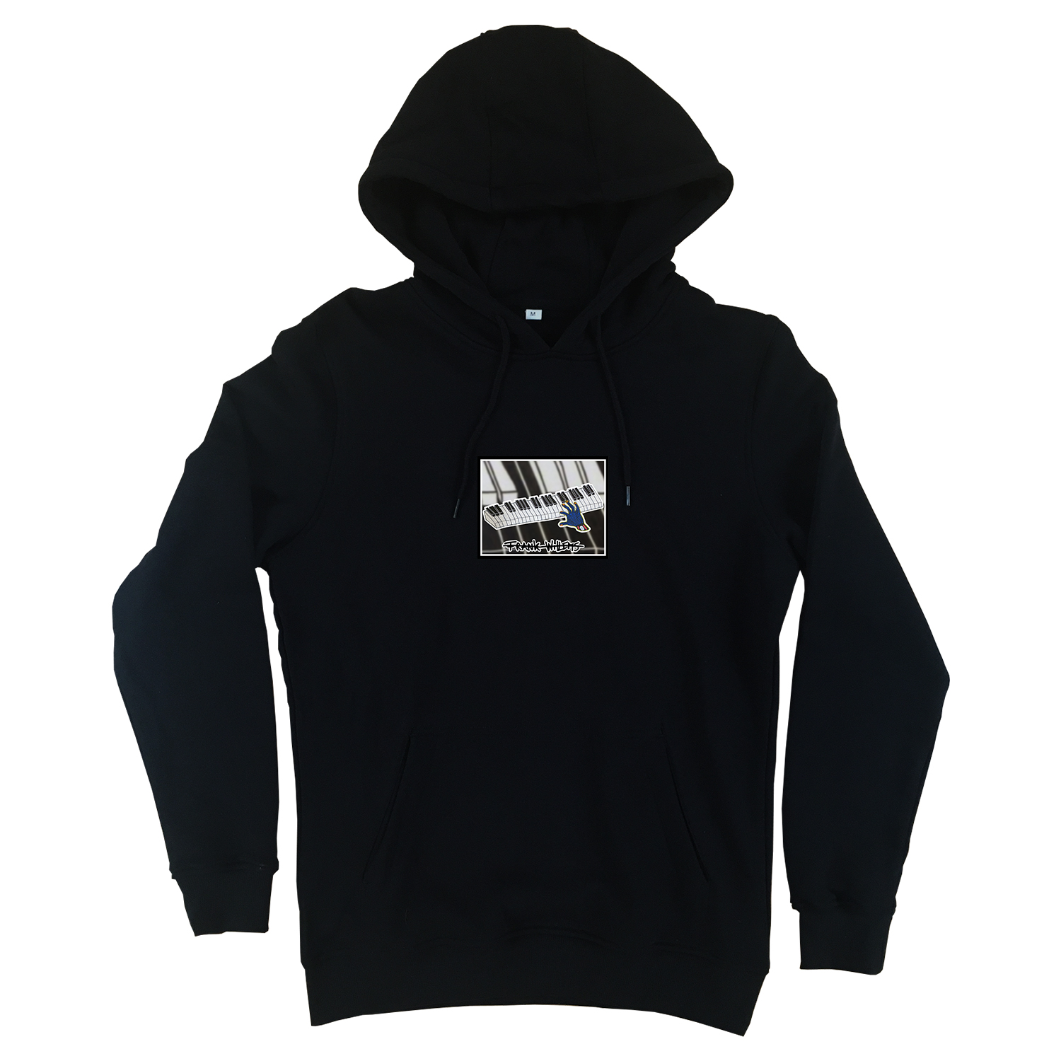 Hoodie black - ONE PRESS CLOSER TO MUSIC - Frank Willems