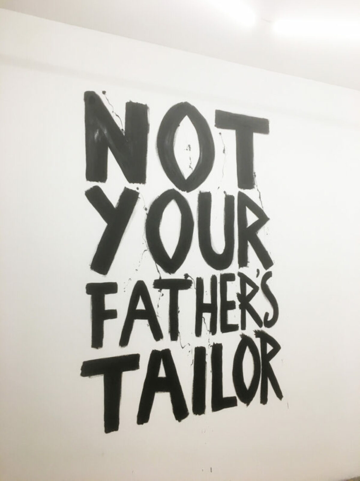 NOT YOUR FATHER'S TAILOR - L ATELIER - Maastricht - Frank Willems