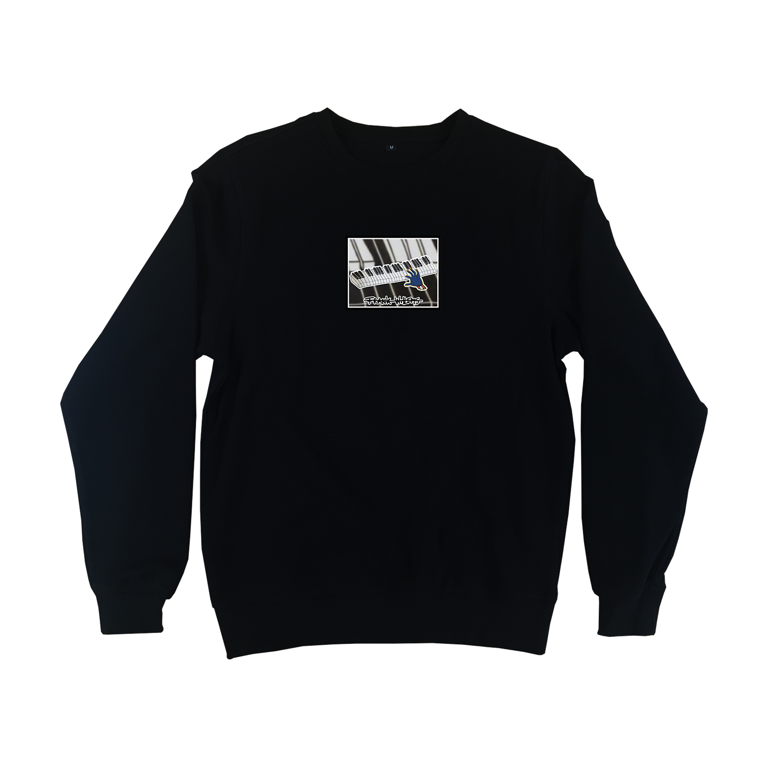 Sweater black - ONE PRESS CLOSER TO MUSIC - Frank Willems