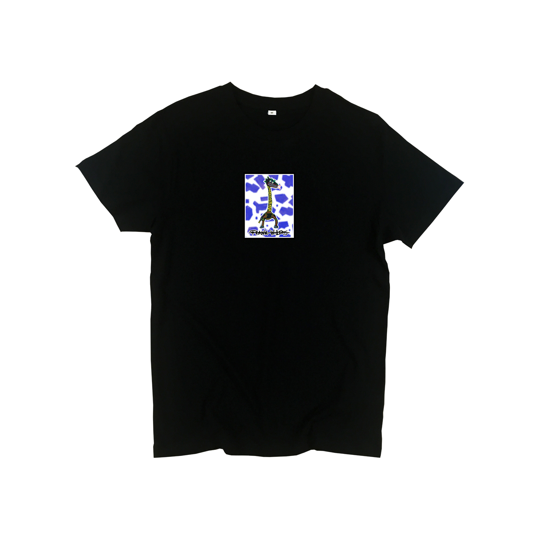 T-shirt black - CRICK IN NECK - Frank Willems