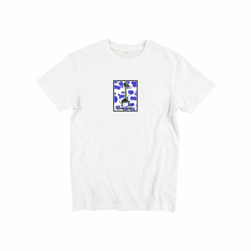 T-SHIRT - CRICK IN NECK - WHITE