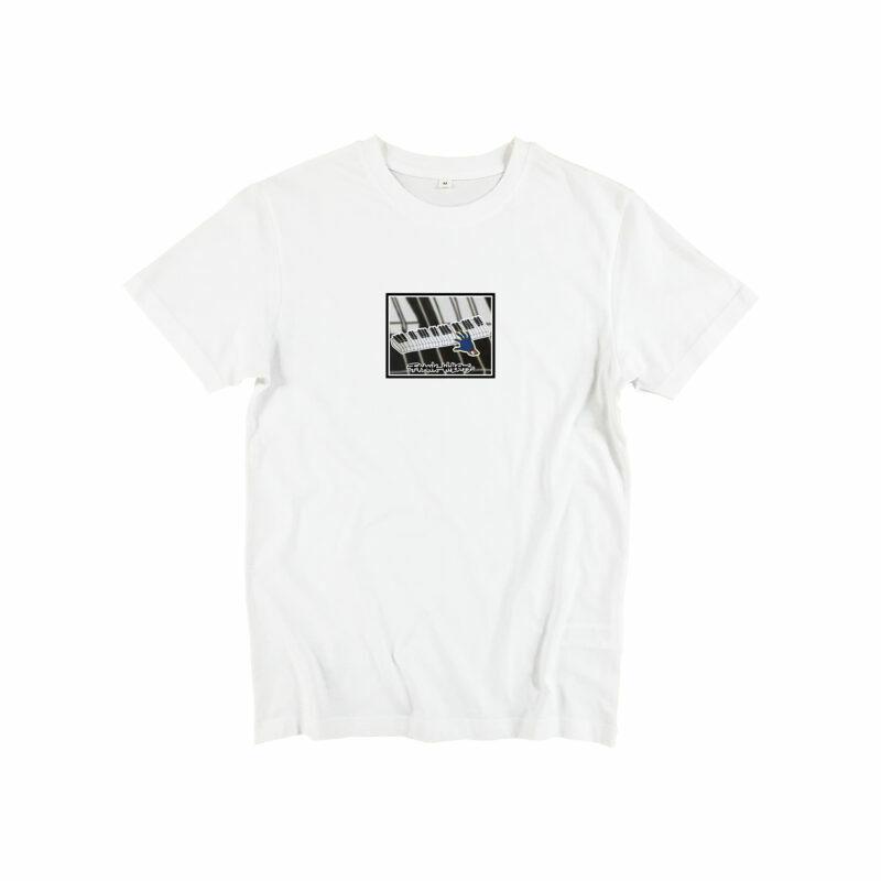 T-SHIRT - ONE PRESS CLOSER TO MUSIC - WHITE