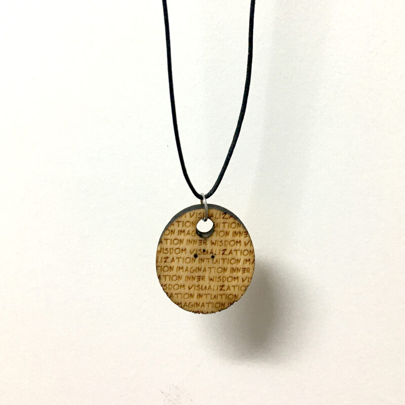 THIRD EYE 05 - BALL CHAIN NECKLACE - Back - Frank Willems